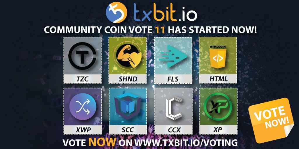 Please vote HTML as your favourite project to be listed on @txbit_io exchange! #blockchain #blockchaintechnology #ethereum #blockchainnews #fintech #cryptocurrency #bitcoin #altcoin #crypto @HtmlBunker #cryptocommunity #btc