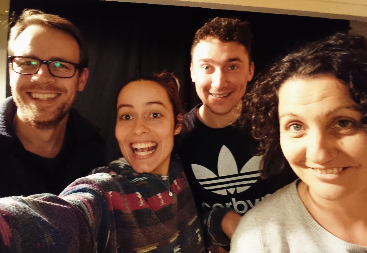 Week 2 of #snowdancer rehearsals now underway! Opening night: Hunsingore Village Hall 5th Dec, touring til 29th Dec (tour venues ). A fairy tale with a furry tale…. perfect for ages 5-95! @ace_thenorth @AnaBenham @DannyJMellor @RichardAKay   #ruraltouring