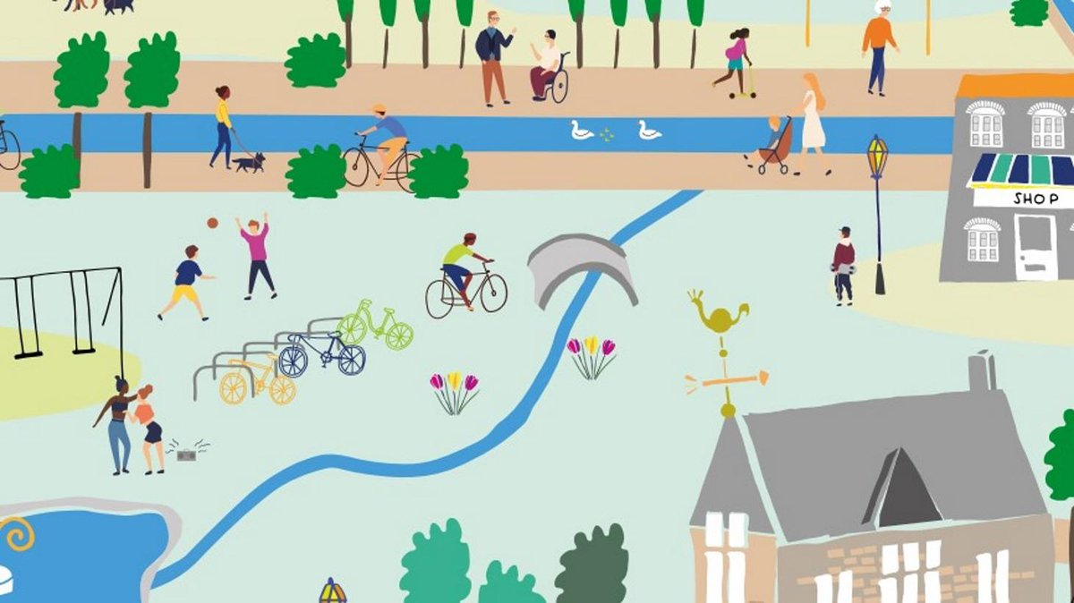 Retrofitting safe pedestrian and cycle infrastructure is welcome: designing it as integral to new developments is essential #cycling #HealthyLiving