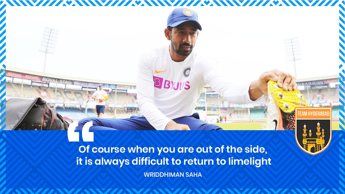 🗣🏏 Wriddhiman Saha on how tough it was being out of the side during rehab.Photo by BCCI | #INDvBAN #INDvsBAN #wriddhimansaha #saha #rishabpant #rishabhpant #indiancricket #teamindia #SunrisersHyderabad #SRH #Orangearmy #IPL #VivoIPL #TeamHyderabad #CRICKETS #Sportwalk