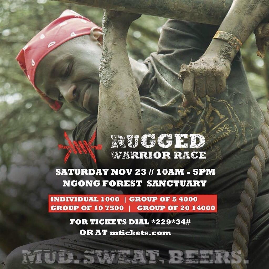 We are excited about this coming event because the track is very challenging. New routes on the track and different obstacles.   See you on SATURDAY.   @mticketske @ruggedwarriorrace  #MticketsEvents #DialATicket #saturdaymood  #ruggedwarriorrace