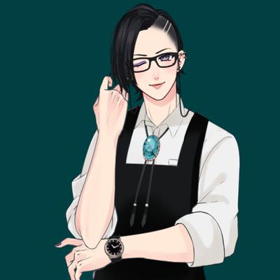#顔のいいVtuberは黒ぶちメガネが似合う#Vtuberこういうのあまり乗らないけど乗っちゃお顔いいからみて~?
