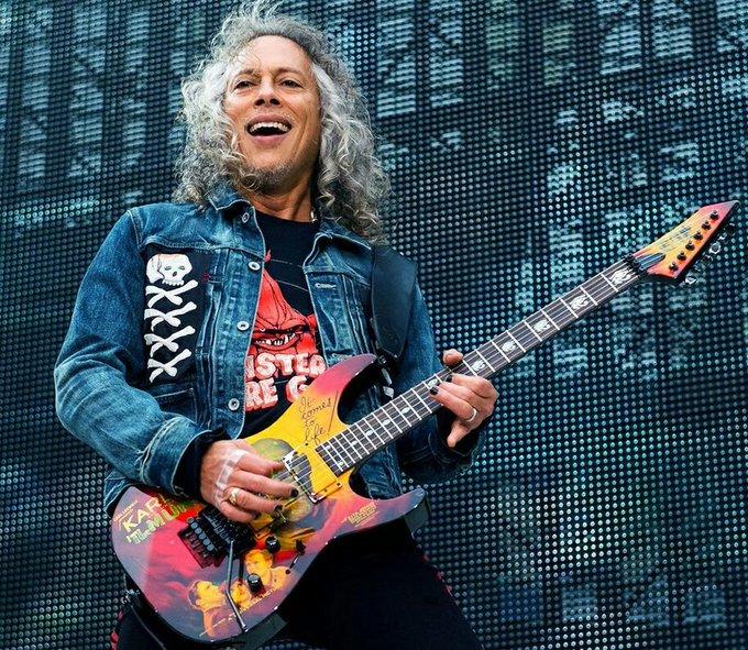Happy Birthday, Kirk Hammett