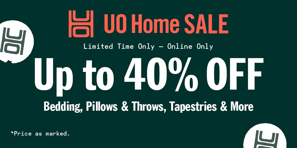 a very happy monday: were kicking off our week with up to 40% off home decor! bddy.me/32VJcP9