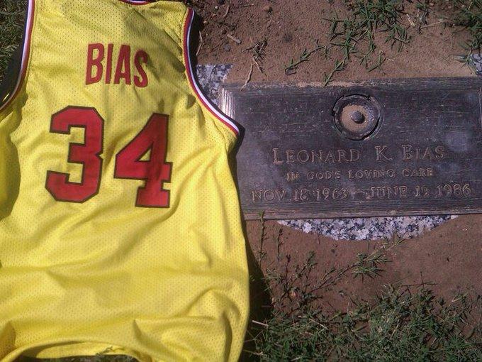 Happy Bday Len Bias  ....
