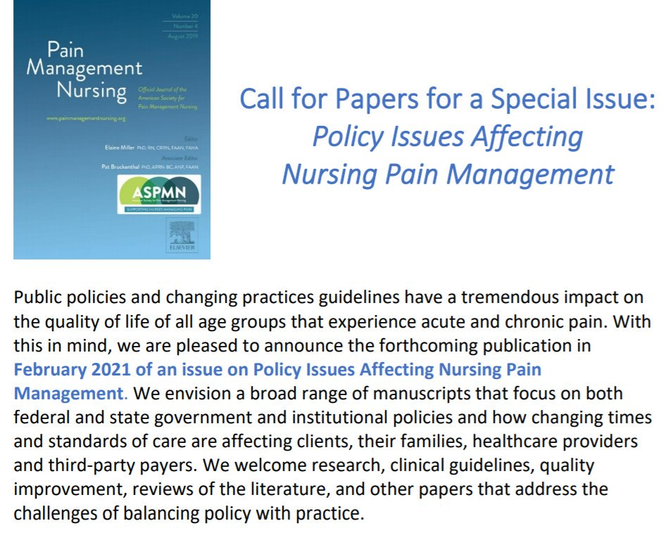 Pain Management Nursing (@PMN_Journal) | Twitter