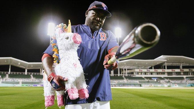 Happy 44th Birthday to the one and only, Mr. Octubre. David Ortiz !