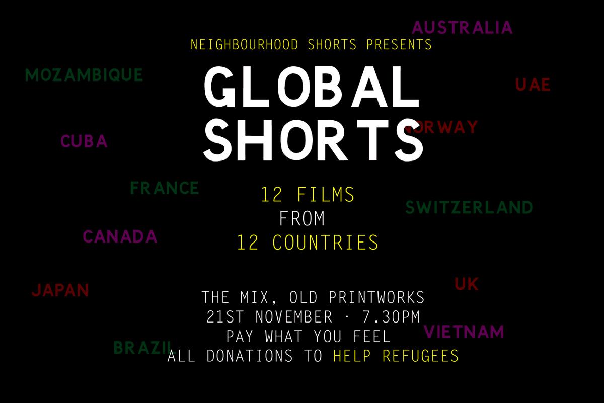 This Thursday! Twelve films Twelve countries 🇻🇳🇲🇿🇯🇵🇬🇧🇨🇦🇨🇺🇨🇭🇳🇴🇦🇪🇧🇷🇦🇺🇩🇿