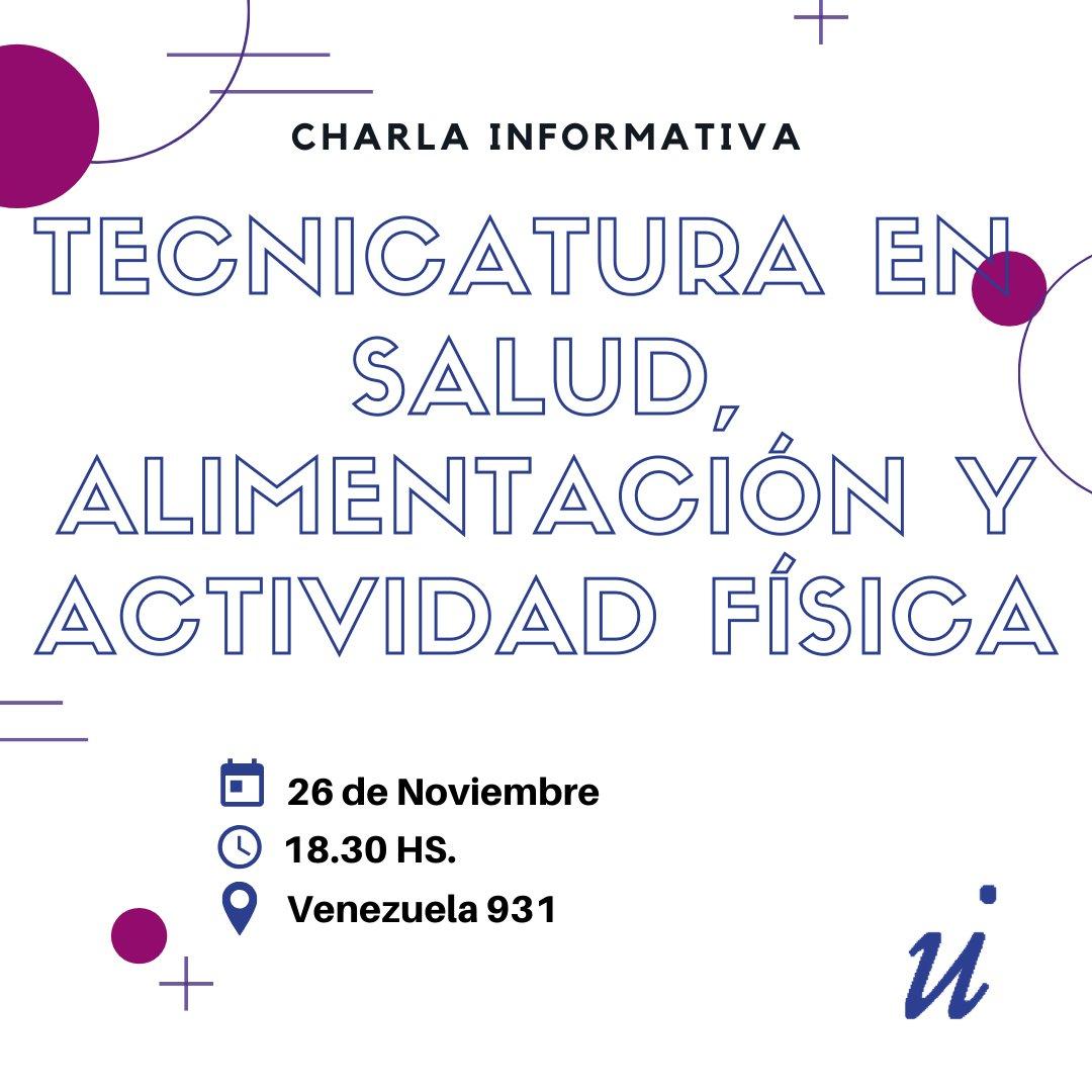 𝗖𝗛𝗔𝗥𝗟𝗔𝗦 𝗜𝗡𝗙𝗢𝗥𝗠𝗔𝗧𝗜𝗩𝗔𝗦 𝚃𝚘𝚍𝚘𝚜 𝚊𝚚𝚞𝚎𝚕𝚕𝚘𝚜 𝚚𝚞𝚎 𝚙𝚊𝚛𝚝𝚒𝚌𝚒𝚙𝚎𝚗, 𝟱𝟬% 𝚍𝚎 𝚋𝚘𝚗𝚒𝚏𝚒𝚌𝚊𝚌𝚒ó𝚗 𝚎𝚗 𝚕𝚊 𝚖𝚊𝚝𝚛í𝚌𝚞𝚕𝚊 Inscribíte 👉 #TESAFISALUD #Salud #Alimentación #ActividadFísica #QueEstudiar #UniversidadISALUD