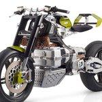 Image for the Tweet beginning: Blackstone HyperTek electric motorcycle smashes