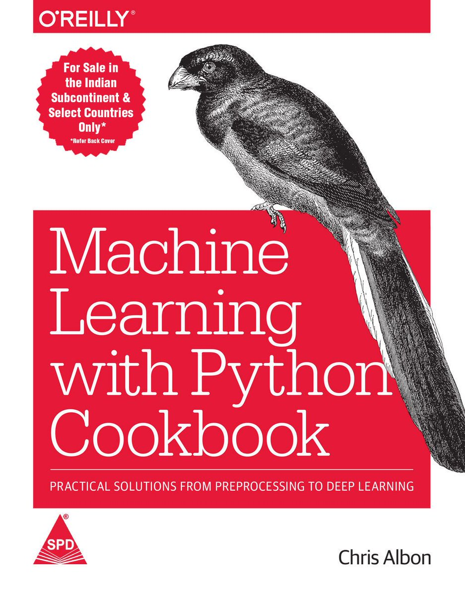 test Twitter Media - Machine Learning With Python Cookbook:Practical Solutions From Preprocessing To Deep Learning https://t.co/txPt7uzkgX  @TCS @Wipro @tech2eets @ThePSF @ML_today @ml_india @upGrad_edu  @ml_india_ #MachineLearning #Data #Python #deeplearning #shroffpublishers #spdbooks #oreillymedia https://t.co/Mon4m5VJKW