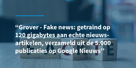 test Twitter Media - Grover is technisch gezien een AI-model dat is ontwikkeld om nepnieuws te vinden dat door machines is geschreven. Lees meer over Grover: https://t.co/wevOvJ955O  #fakenews #ai #artificialintelligence https://t.co/jvrLTEfbMn