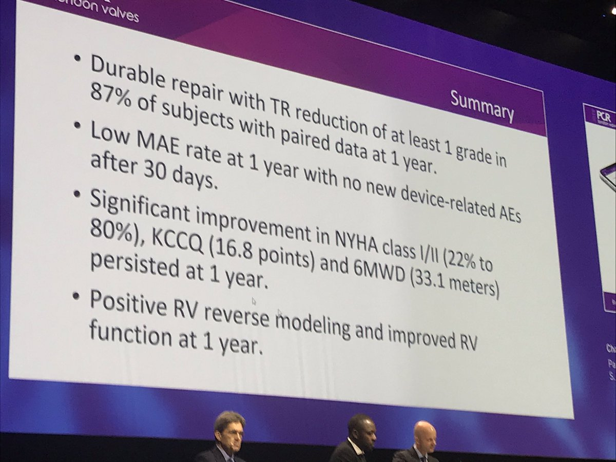 Conclusions of the 1-Year Triluminate trial