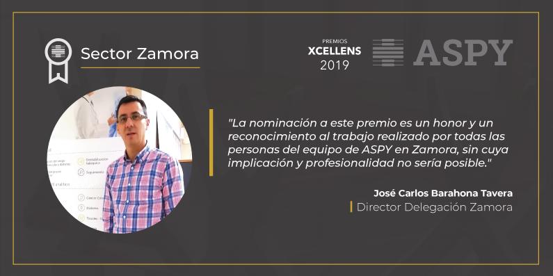 test Twitter Media - Esta semana os presentamos las Delegaciones Finalistas a los Premios #Xcellens a la Gestión Preventiva. Un reconocimiento al #trabajobienhecho de los compañer@s de ASPY en todo el territorio. Hoy, el mensaje de J. C. Barahona, director de la Delegación de #Zamora ¡finalista 2019! https://t.co/Fe9kAkb7PK