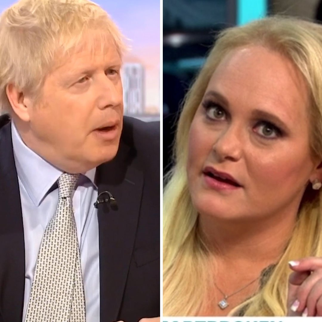 Boris Johnson and Jennifer Arcuri have the same energy