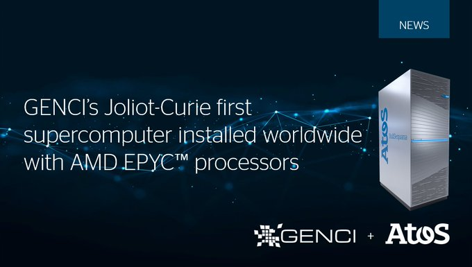 Together with @Genci_fr we're glad to announce that the latest extension of the Joliot-Curie...