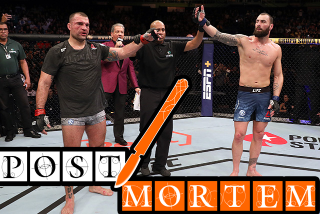 Post-Mortem: UFC Fight Night 164 http://bit.ly/2KxZ83P via @KeithShillanMMA #UFCSaoPaulo