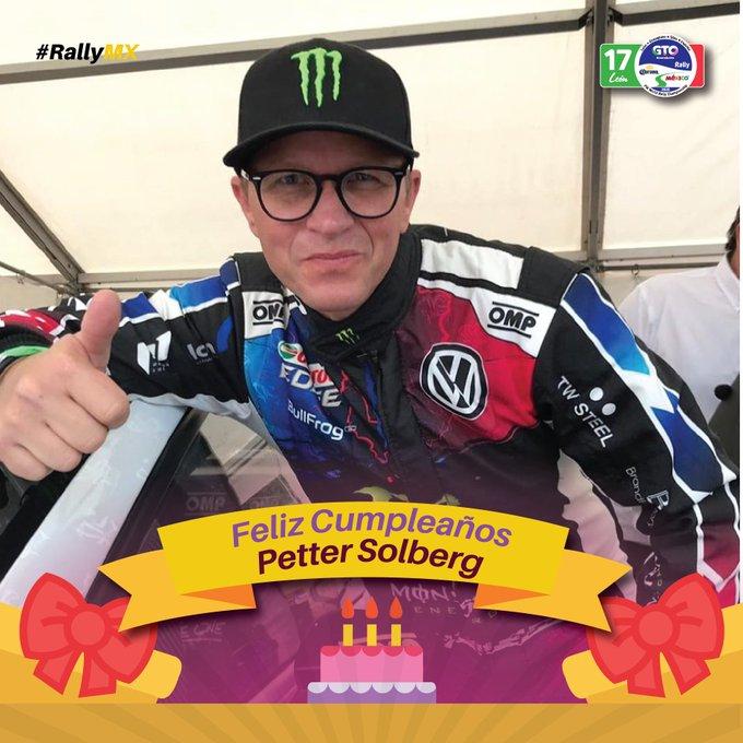Feliz Cumpleaños Happy Birthday Petter Solberg!