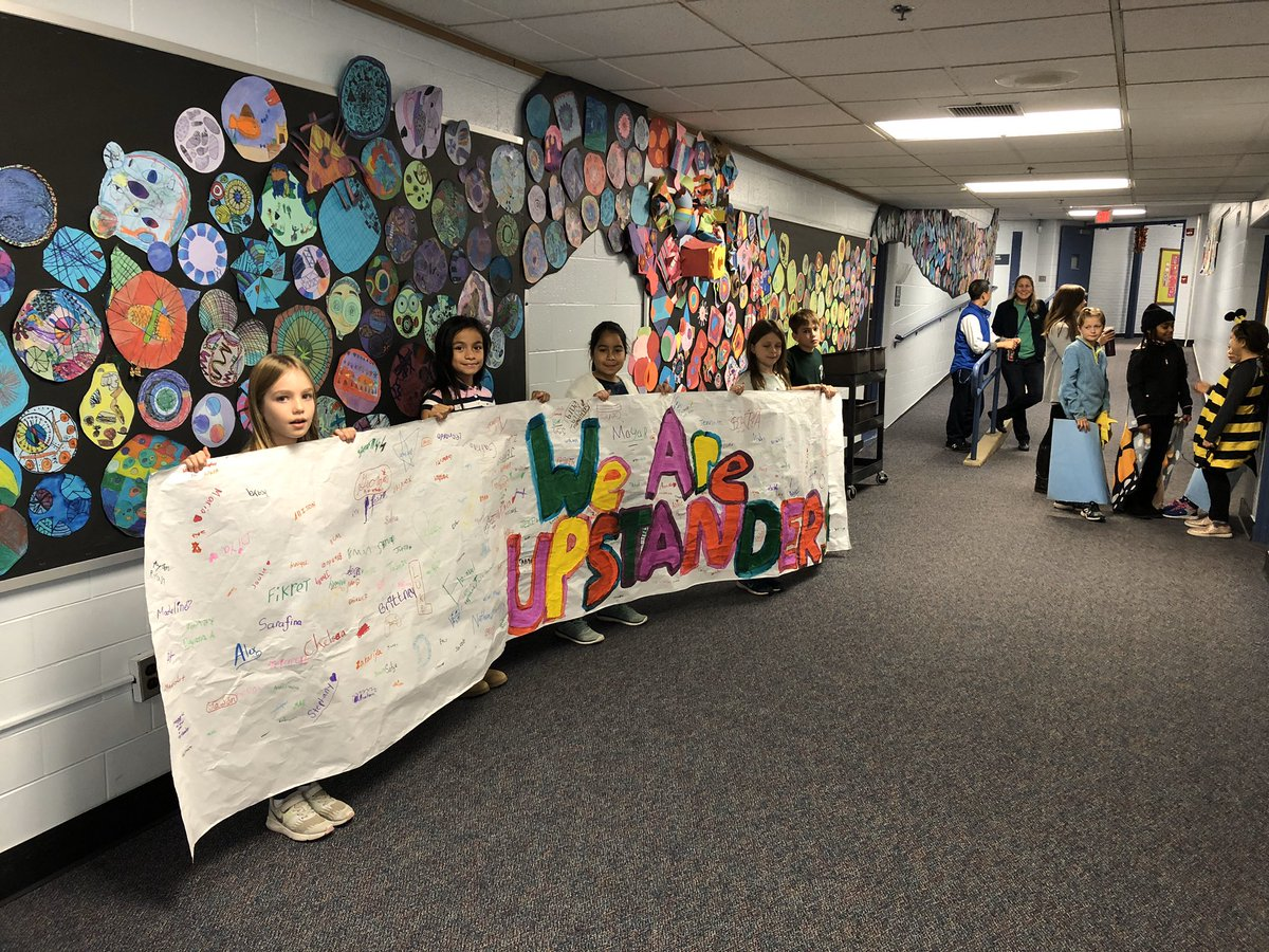 ICYMI: 3rd, 4th, and 5th grade students lead the whole school in taking the Upstander Pledge at last Friday's Community Meeting! <a target='_blank' href='https://t.co/WalvXpjHY0'>https://t.co/WalvXpjHY0</a>
