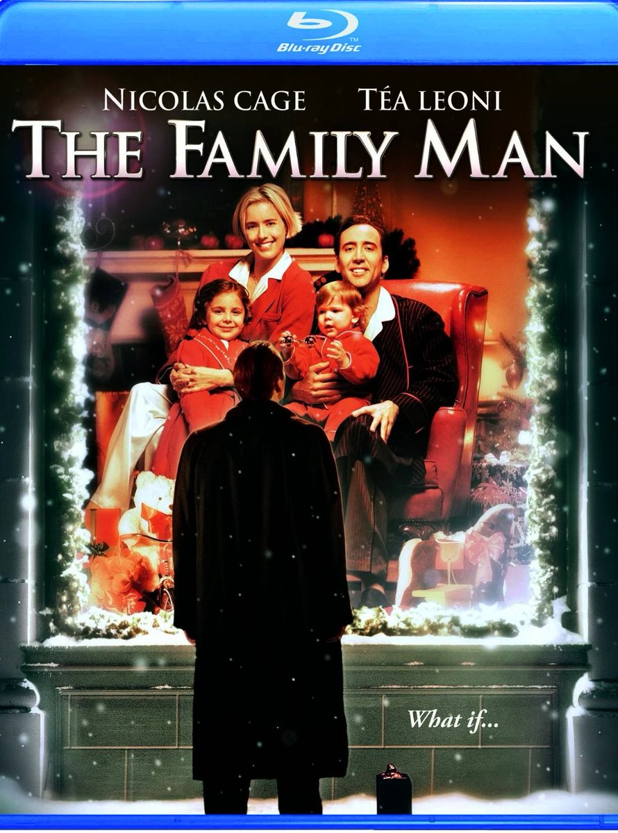 Cant stress this enough Watch The Family Man this Christmas And remember that life is not about your job