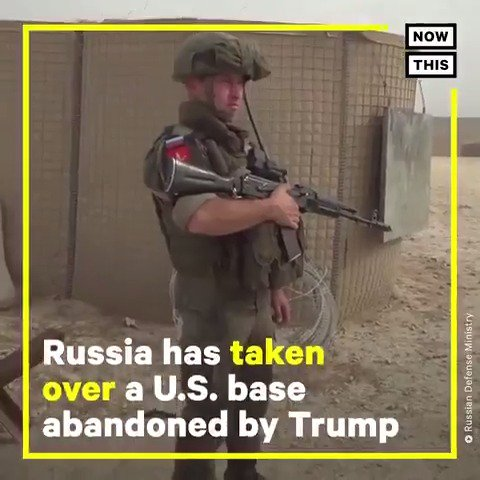 @rgoodlaw We haven't forgotten Trump endangering troops in Syria, abandoning Kurdish allies, & leaving US military bases to Russian troops. All after a phone call with Turkey where he has business interests. Complicit GOP did nothing!