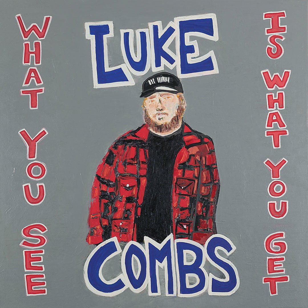 .@LukeCombs' new album, 'What You See Is What You Get,' debuts at #1 on the @Billboard 200 with 172,000 equivalent units (109,000 pure album sales)! The album also breaks the record for the biggest streaming week for a country album. #WhatYouSeeIsWhatYouGet  <br>http://pic.twitter.com/z3SDZiCVm2