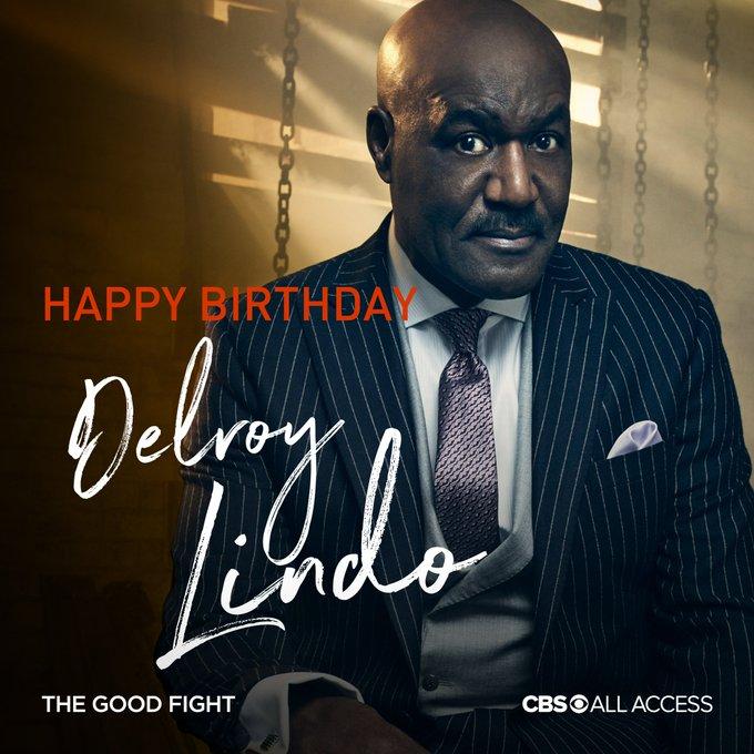Happy Birthday Delroy Lindo!