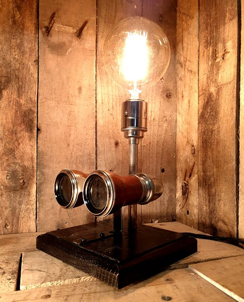 Looking for a unique Christmas present? Albert & Edward will be in Canterbury Christmas Market from 17th Nov to Christmas Eve. Located opposite the Metro Bank #unique #bespoke #whitstable #steampunk #handmade #CanterburyisCanterbury #designs #interior #upcycling #edison #gifts