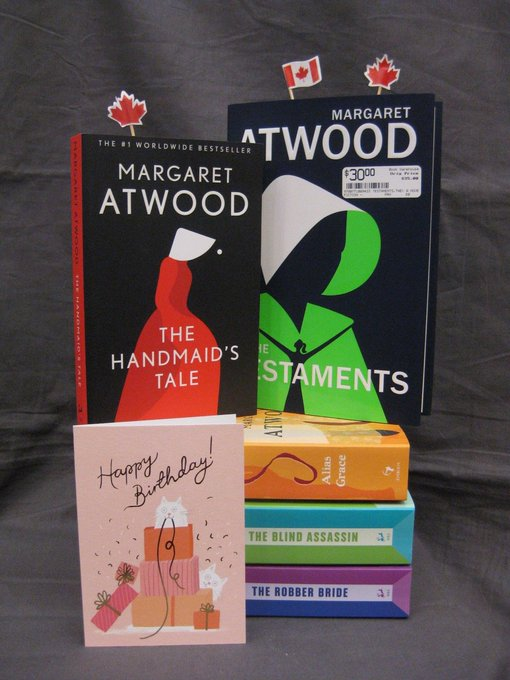 Happy Birthday, Margaret Atwood! Here\s to many more years to come!