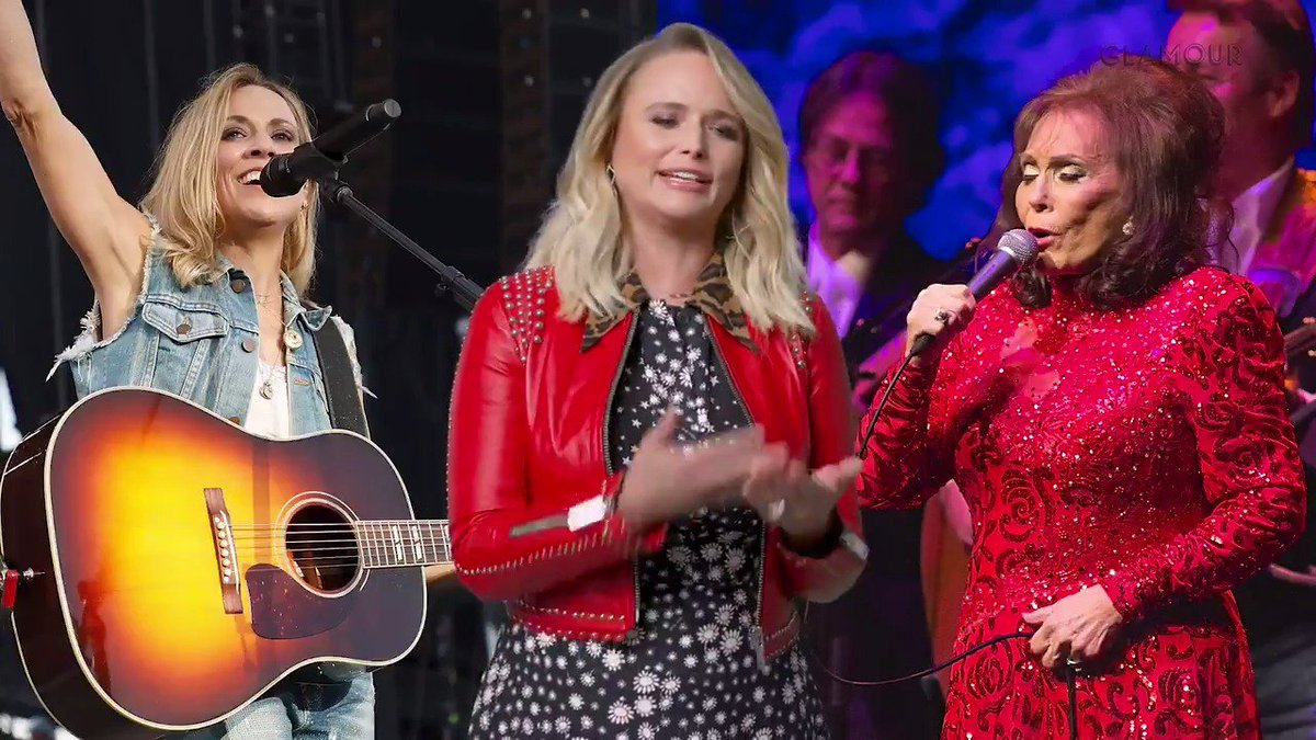 .@mirandalambert breaks down her greatest duets with some of country music's biggest legends and shares behind-the-scenes stories about working the iconic @carrieunderwood 🤩http://glmr.co/GtcOCFL