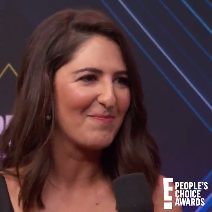 .@DarcyCarden  played it cool, but I FREAKED OUT when I heard Jennifer Aniston was coming. #PCAs