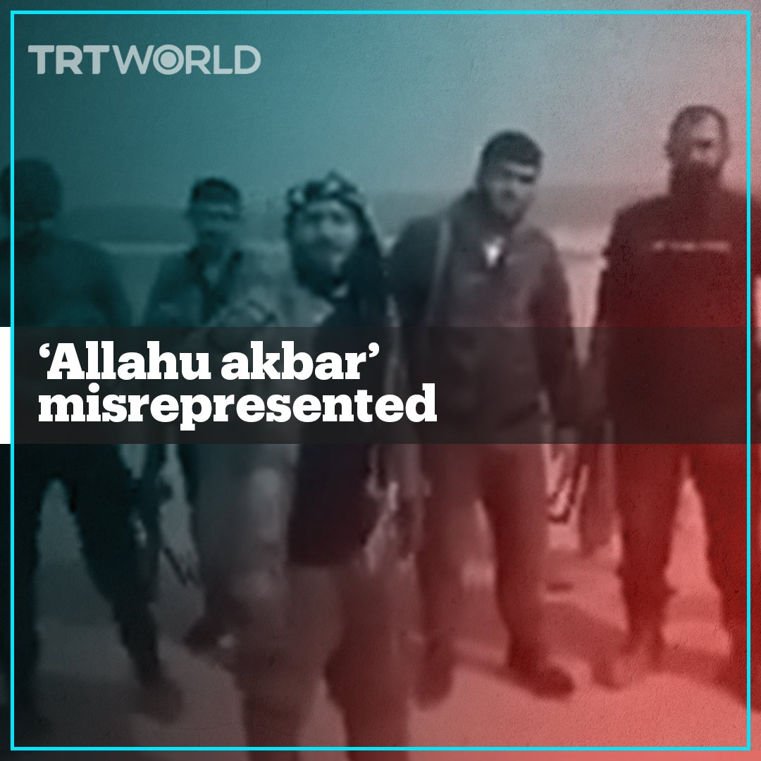 """A tweet by the YPG terror group in northern Syria said """"Allahu akbar"""" was a Daesh chant, and it sparked anger on social media"""