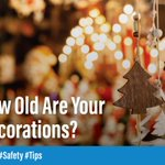 This year consider upgrading to flame resistant or flame retardant decorations. 🎄 #Safety #Tips