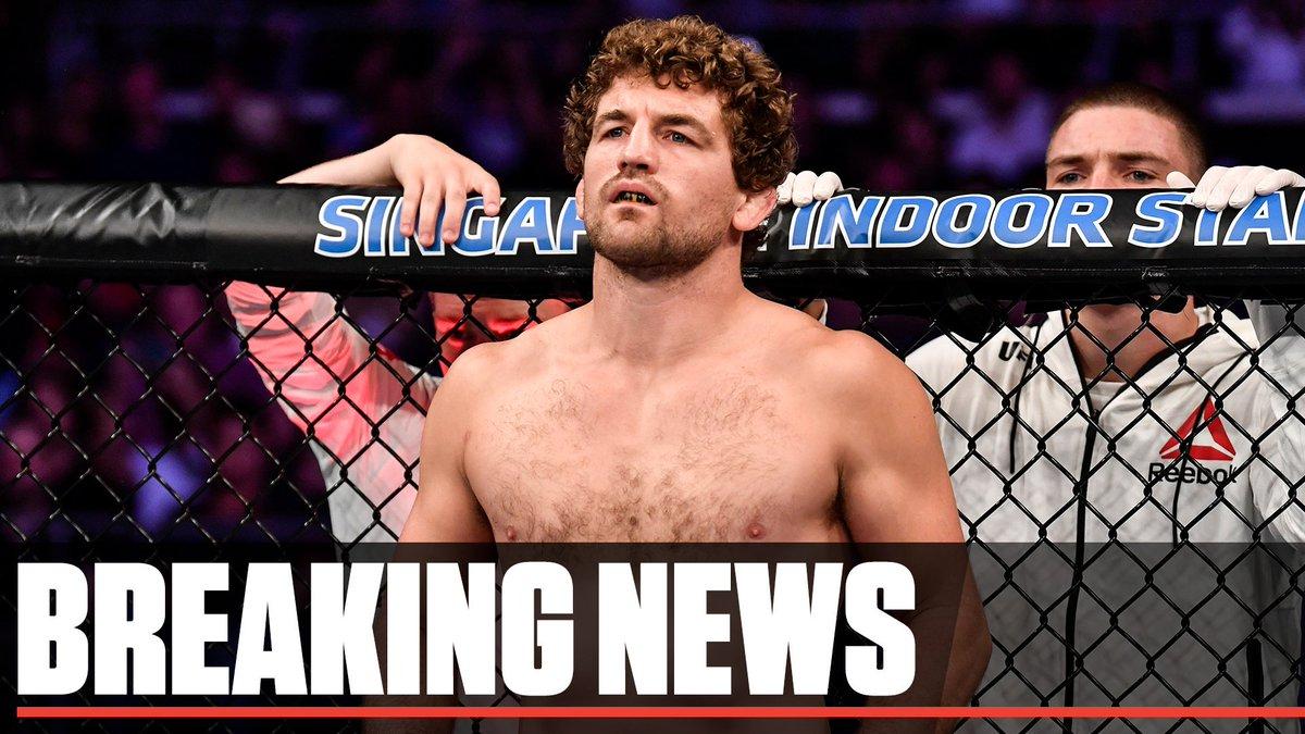 BREAKING: @Benaskren has announced his retirement from MMA. (via @arielhelwani)