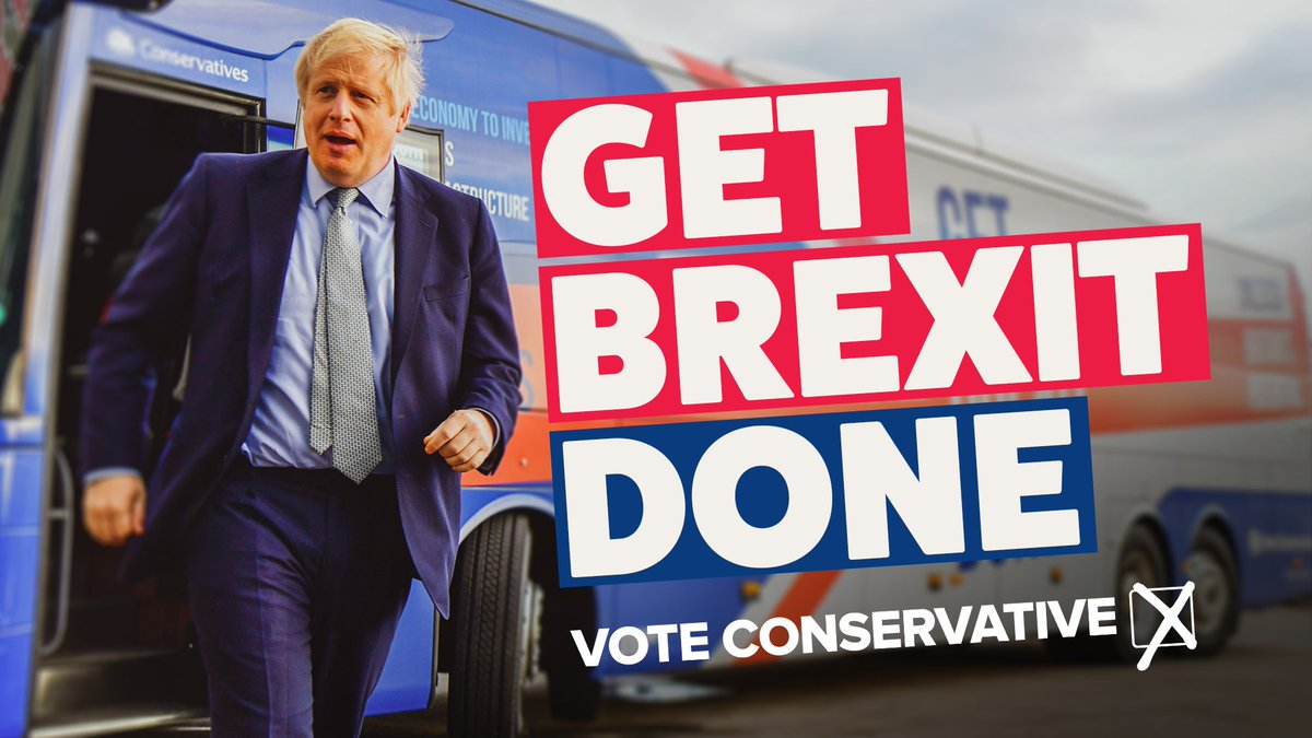 I say, let's get Brexit done so we can get on with making this the best country in the world to live for you and your family. <br>http://pic.twitter.com/gtAFuO3CBS