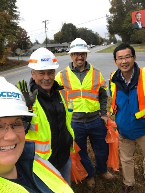 Image posted in Tweet made by SCDOT on November 18, 2019, 7:04 pm UTC