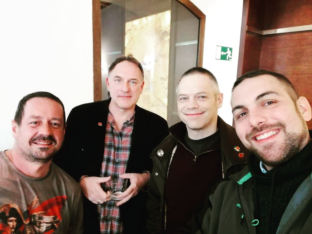 Pedro Santamaría, Simon Scarrow, Ben Kane, Pablo Lozano