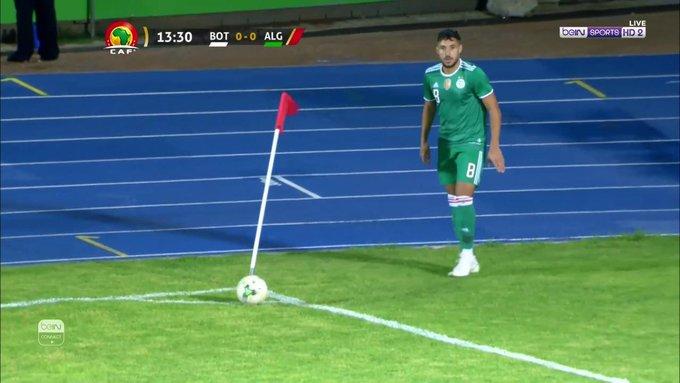 يوسف بلايلي يخطف ثلاث نقاط للجزائر على حساب بتسوانا في تصفيات امم افريقيا