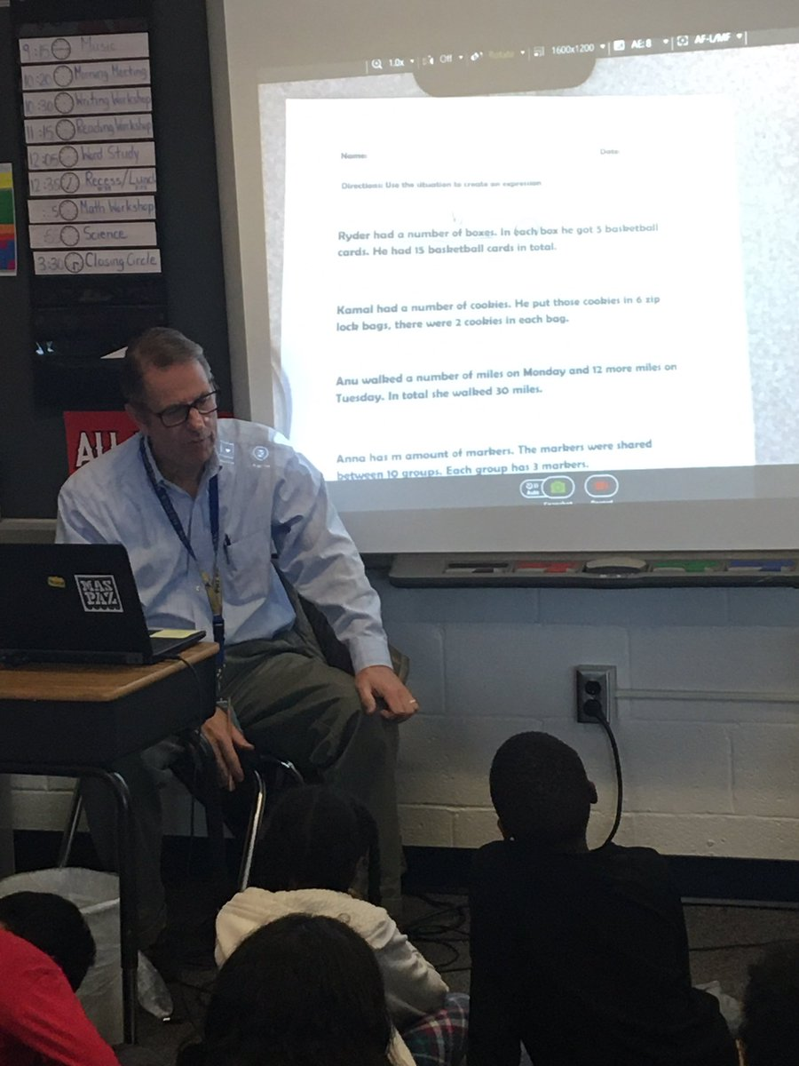 Mr. Siegel continues teaching about algebraic expressions in math workshop <a target='_blank' href='http://search.twitter.com/search?q=hfbtweets'><a target='_blank' href='https://twitter.com/hashtag/hfbtweets?src=hash'>#hfbtweets</a></a> <a target='_blank' href='http://twitter.com/HFBMath'>@HFBMath</a> <a target='_blank' href='https://t.co/KDR76pc7iF'>https://t.co/KDR76pc7iF</a>