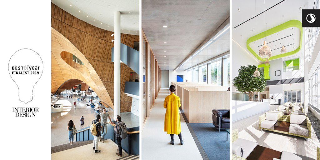 Stantec On Twitter Stantecproud To Have Three Finalists For Interiordesign Best Of Year Awards Charles Library At Temple University Education Glenstone Museum Administrative Offices Creative Office And Ny Proton Center Healthcare