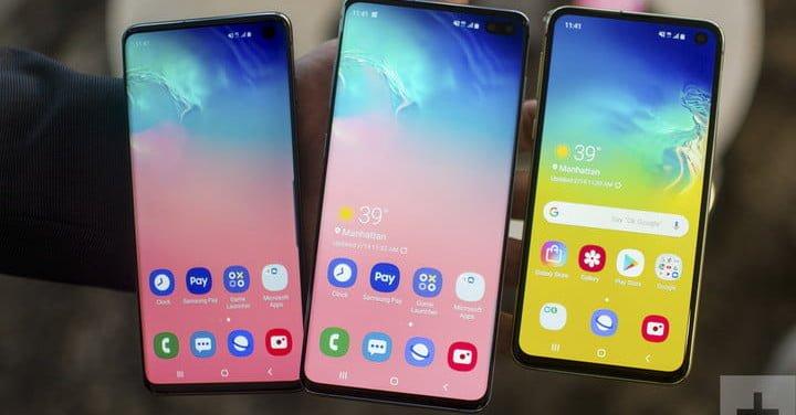 Comparamos #Samsung #Galaxy s10 vs. S10 Plus vs. S10 e vs. S10 5G