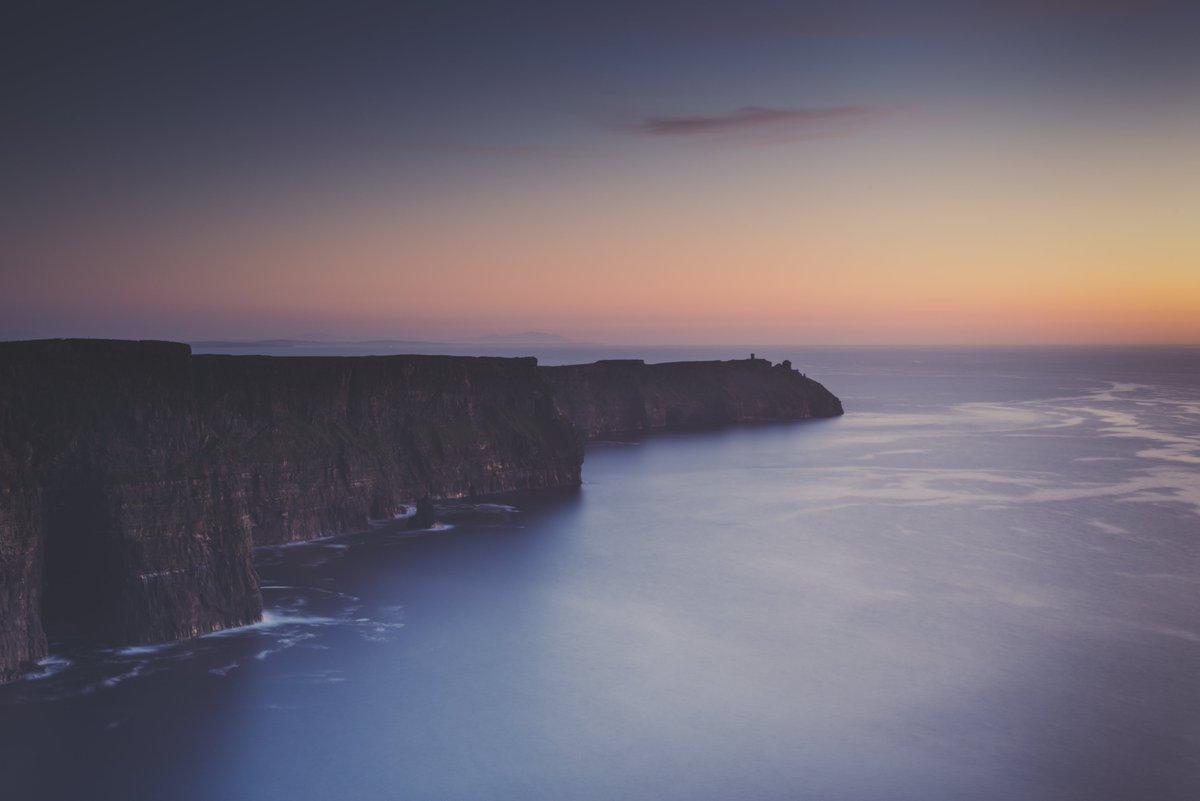 Post sunset at Cliffs of Moher. #ireland #wildatlanticway #landscape #photo #photography #nikon