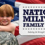 Image for the Tweet beginning: November is National Military Family