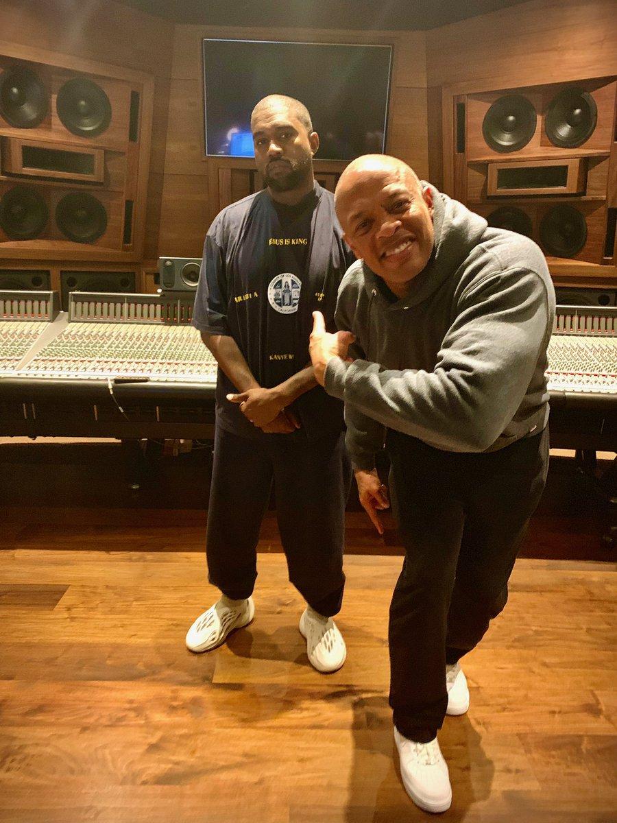 Ye and Dre Jesus is King Part II coming soon.