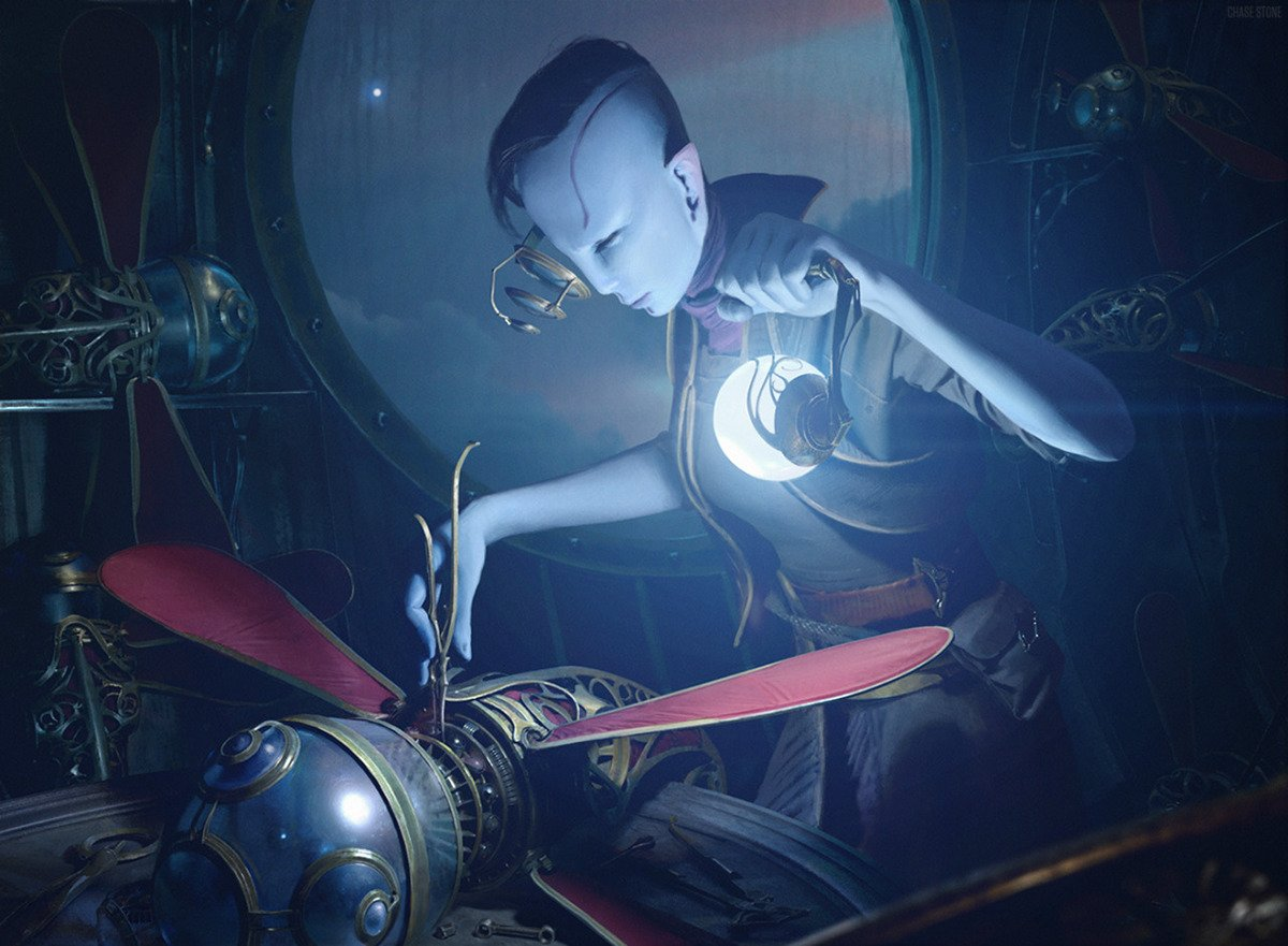 Chase Stone #scifi #fantasyart #steampunk #Futurism #Robotic