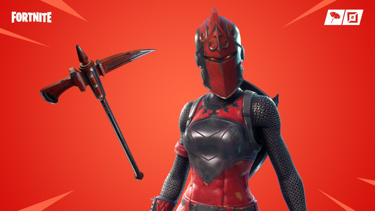 Knight in shining armor   Get the Red Knight Outfit in the Item Shop now!