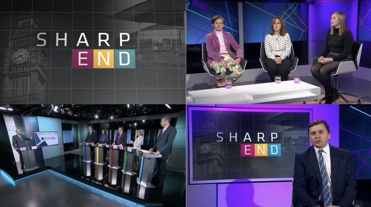 Tonight on #SharpEndITV, has #GE2019 hit a lull? Who fared best in the #ITVWalesDebate & the latest bid for 16/17 year olds to get to vote. Join @Owain_Phillips, @LauraMcAllister, @MsSianMJones & @JessBlair7 at 2315