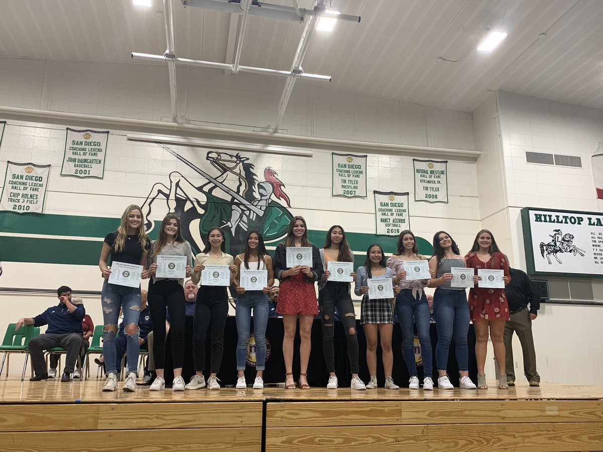 Go Eastlake! This is the first team all league for volleyball @SUHSDAthletics1