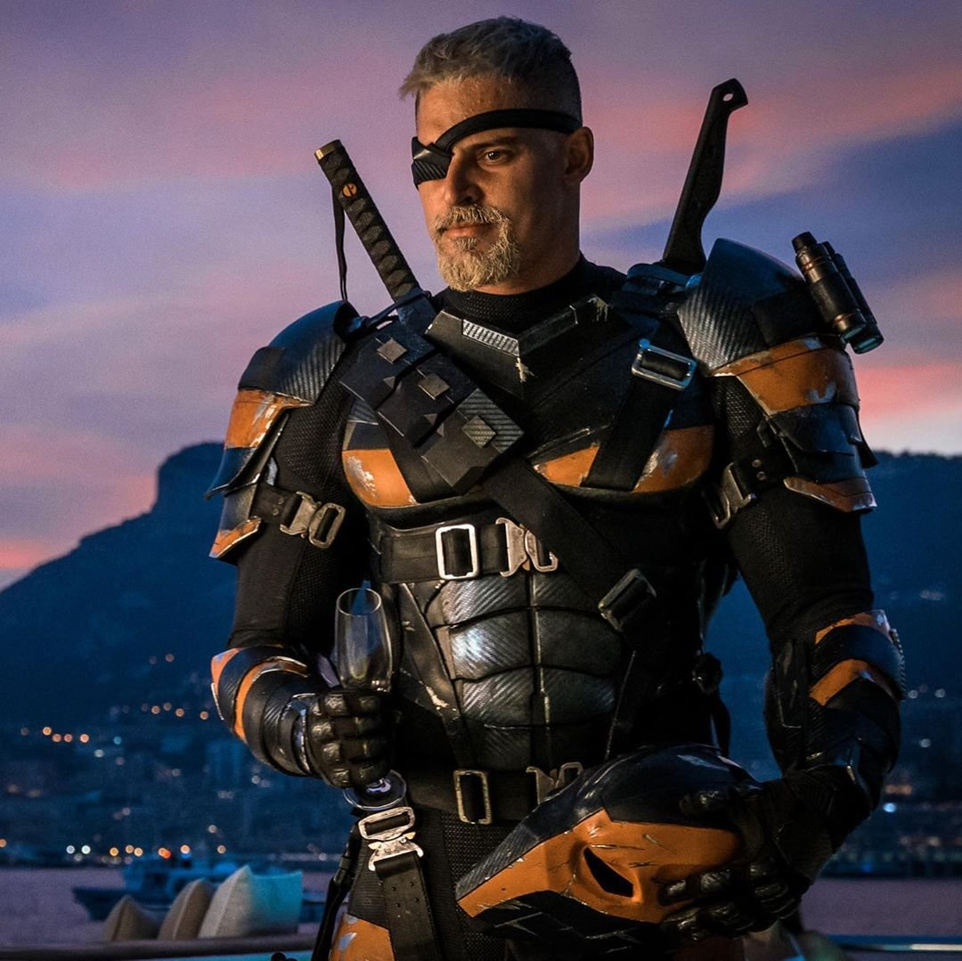 JUSTICE LEAGUE's Joe Manganiello Shows Support For #ReleaseTheSnyderCut  With New Deathstroke Pics