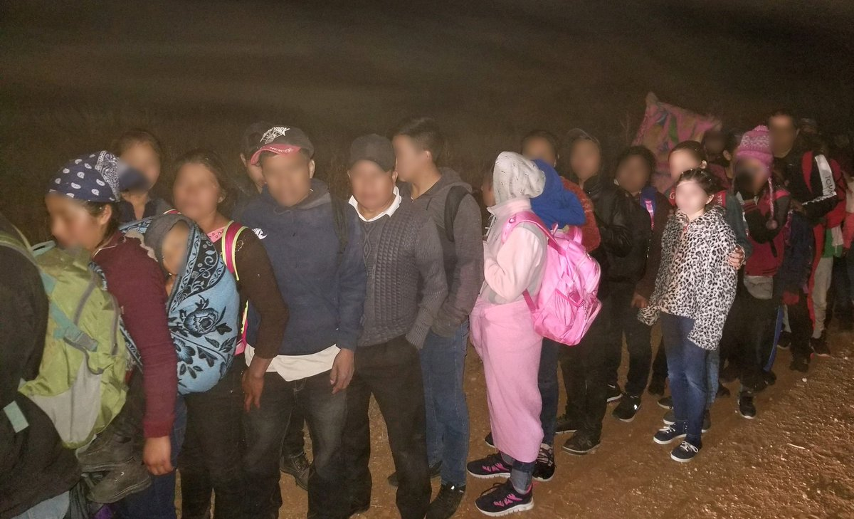 200 Migrants Apprehended After Crossing Arizona Border…
